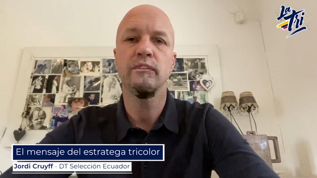 MENSAJE DE JORDI CRUYFF PARA LOS ECUATORIANOS